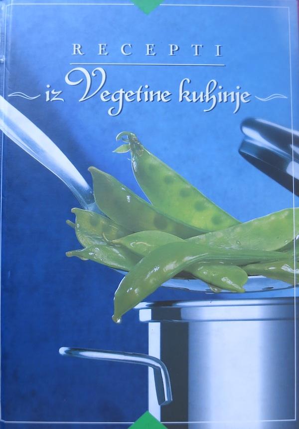 Naslovnica kuharice Ivanke Biluš, Cirile Rode i Božice Brkan u izdanju Alfe i Podravke, dizajn Studio Piktogram