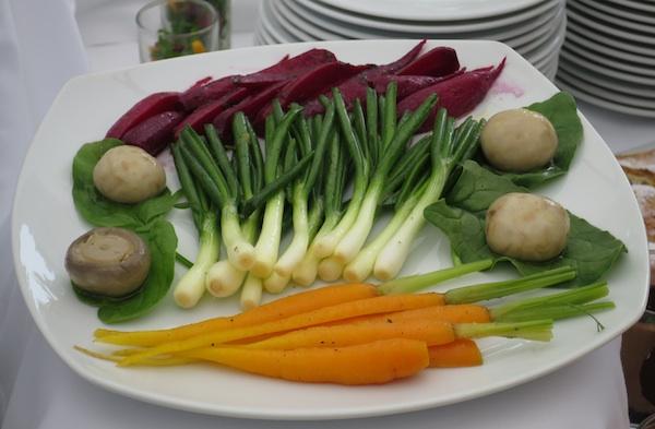 Zelene glazirano povrće iz vlastita zagorskog vrta (Fotografija Božica Brkan / Oblizeki)