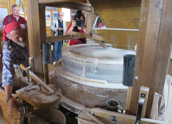 U očekivanje brašna iz samljevena zrna (Fotografija Božica Brkan / Oblizeki)