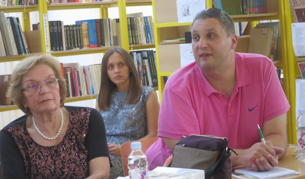 S okrugloga stola Od njive do desertnog stola: RozalijaKurjaković i Tibor Martan (Fotografija Miljenko Brezak / Oblizeki)