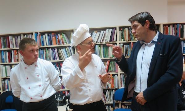 Veliki razgovor s gradonačelnikom pregrade markom Vešligajem (Fotografija Miljenko Brezak / Oblizeki)