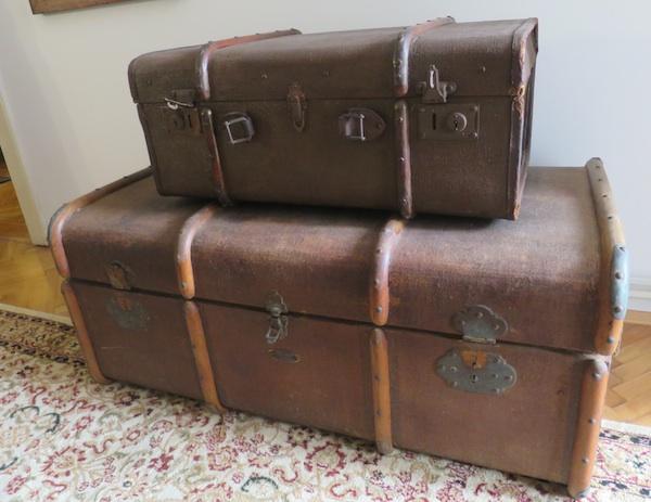 Putni kovčezi Milana Šenoe (Fotografija Božica Brkan / Oblizeki)