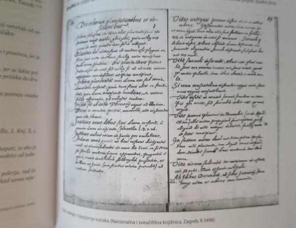 Ilustracija iz knjige: u biblioteci Zrinskih ni cijepljenje voćaka nije propušteno