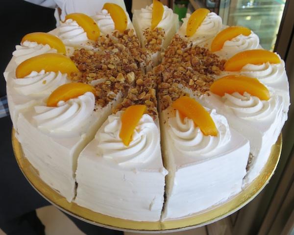 Torta Frankopan u ponudi Internationala (Fotografija Božica Brkan / Oblizeki)