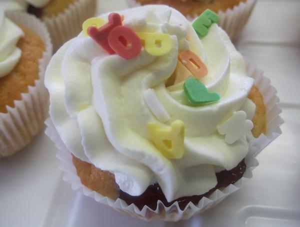 Vesnin cupcake za dječji rošendan, prvi (Fotografija Božica Brkan / Oblizeki)