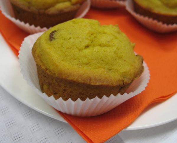 Muffin s bučom (Fotografija Božica Brkan / Oblizeki)