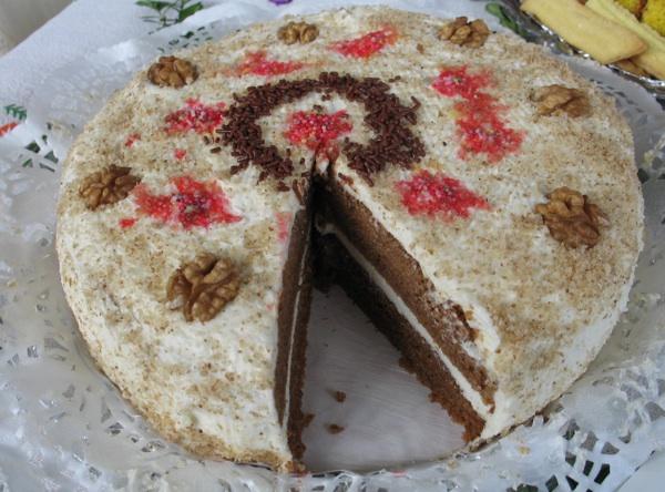 Također torta od oraha otprije nekoliko godina, ali njome nije postiglauspjeh kao što je ovogodišnjom (Fotografija Miljenko Brezak / Oblizeki)