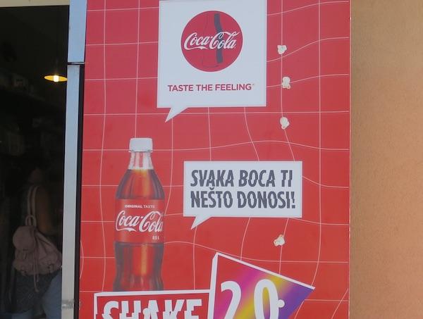 Neka druga Coca Colina reklamna akcija (Fotografija Božica Brkan / Oblizeki)