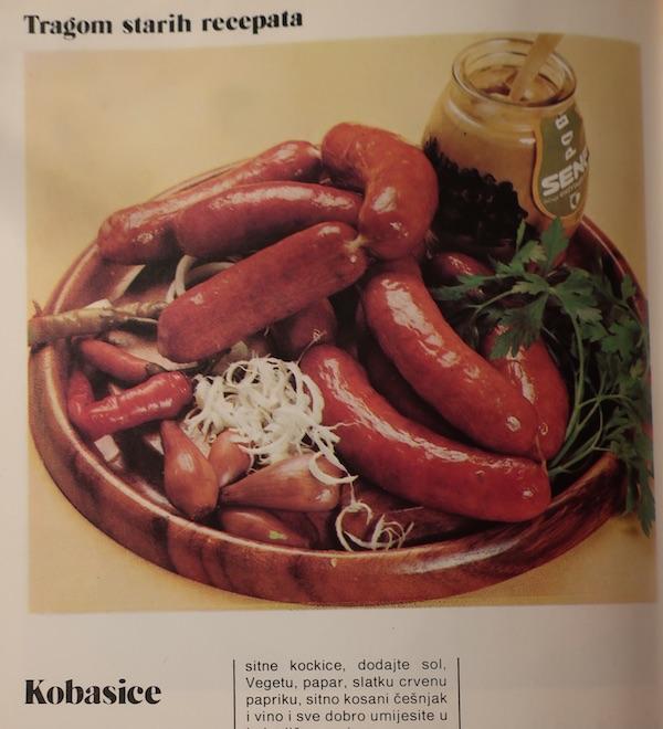Češnjovke i s vegetom!? (Fotografija iz knjižice Vegetinih recepata)