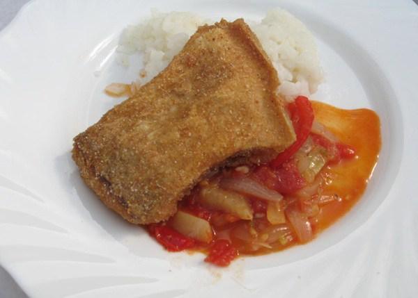 Pohana rječna riba ( Fotografija Božica Brkan / Oblizeki)