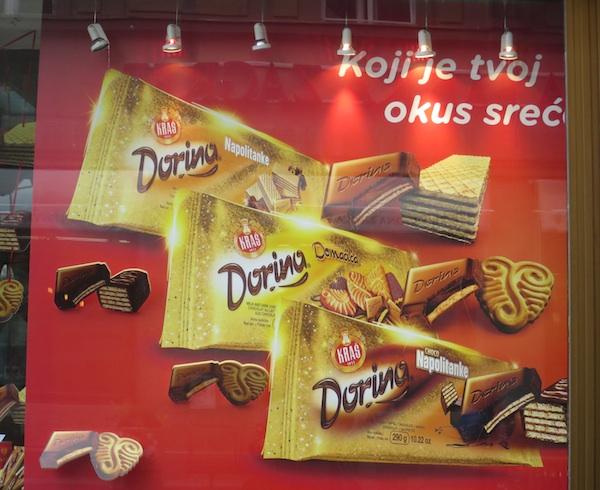 Kraševa Bombonijera u Varšavskoj: Dorina sa slavnim Kraševim keksima (Fotografija Oblizeki)