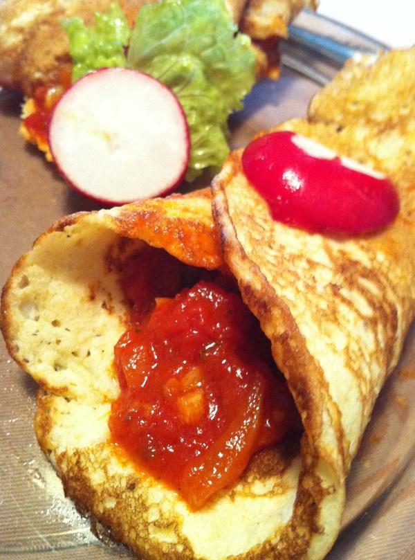 Šalšom nadjevene palačinke zapecite sa sirom u pećnici prema recepturi s Oblizeka (Fotografij Božica Brkan / Oblizeki)
