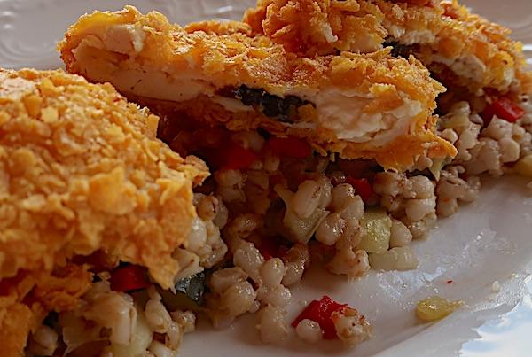 S ječmenom kašom s povrćem, ovisno o ukusu i sezoni (Fotografija Božica Brkan / Oblizeki)