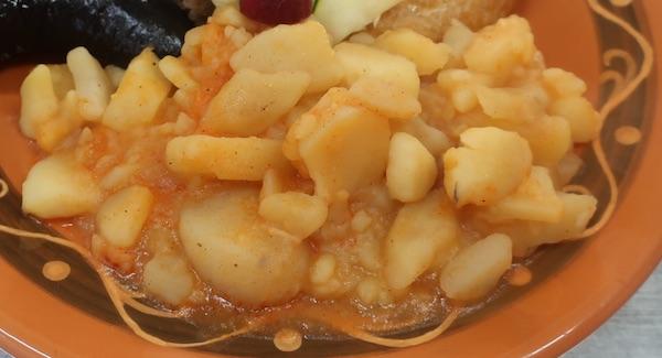 Klapajsani kalamper, restani krumpir (Fotografija Božica Brkan / Oblizeki)