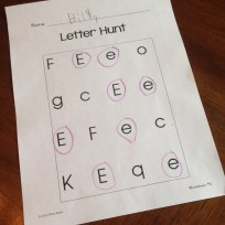 differentiated letter writing