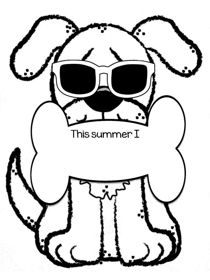 Dog Days of Summer Display & Free Printable Patterns