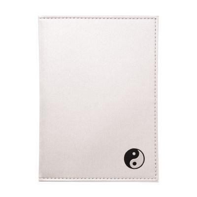 Обложка на паспорт с тиснением Инь-Янь