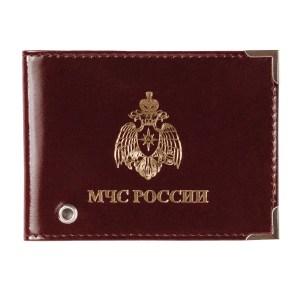 Обложка на удостоверение с тиснением МЧС России