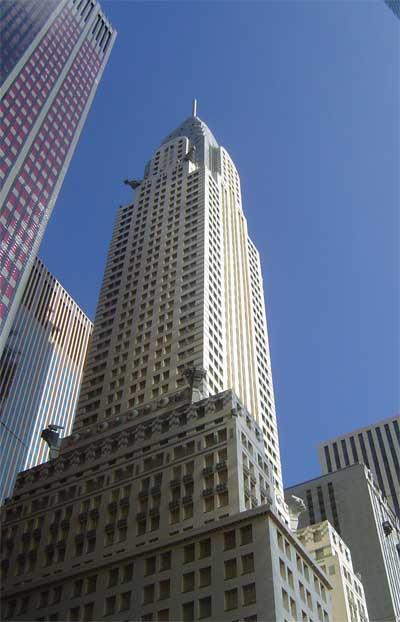 El edificio Chrysler, en Lego