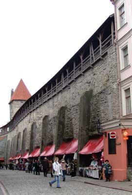 La muralla de Tallinn