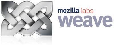El logo de Mozilla Weave