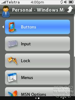 Una captura de la interfaz de usuario de PointUI