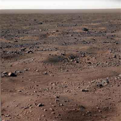 Paisaje marciano fotografiado por Phoenix Mars Lander