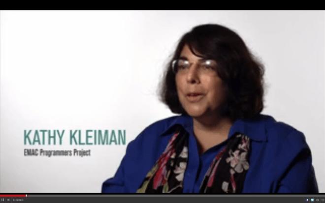 Kathy Kleiman, ENIAC Programmers Project