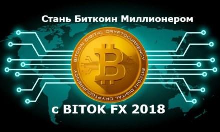 Стань Биткоин Миллионером с BITOK FX 2018