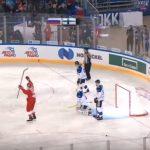 Лучшие моменты Сборная России — сборная Финляндии. Кубок Первого канала по хоккею 2018