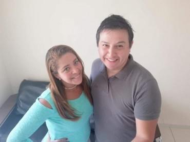 Paul de La Torre e sua esposa Elisa Gomes