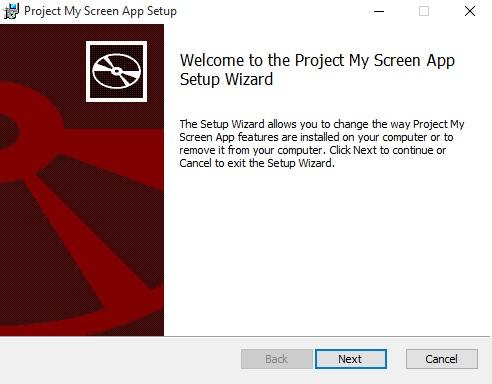 NextProjectMyScreen