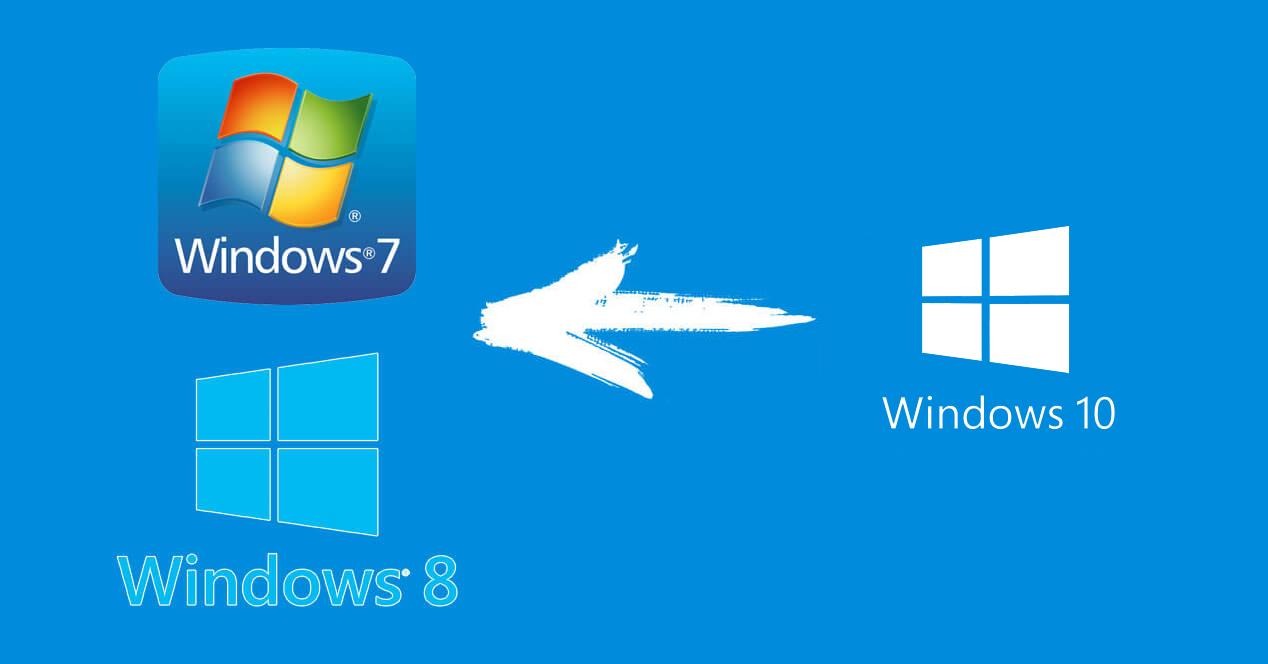Regreso de actualizacion de windows