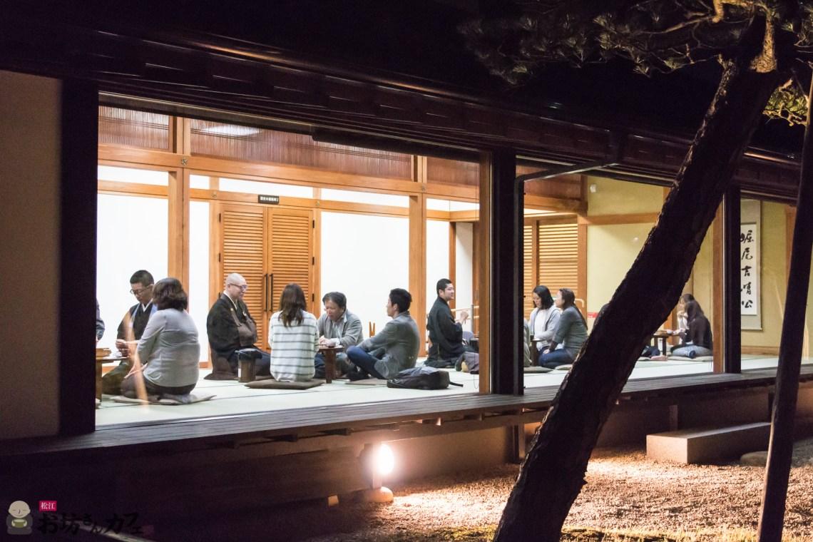 松江お坊さんカフェ 4月の部