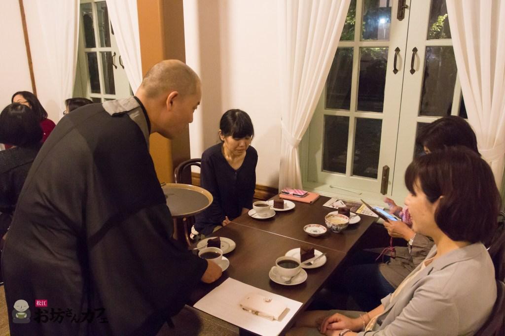 松江お坊さんカフェ 2016年9月の部 in 松江城興雲閣