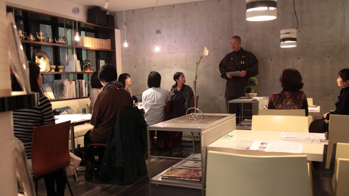 写経カフェ(2014年)
