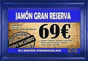 Promo jamón gran reserva segovia 69