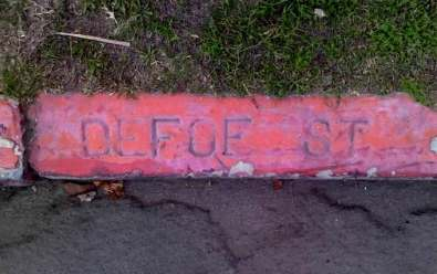 Sunset Cliffs Blvd. was once called DeFoe Street