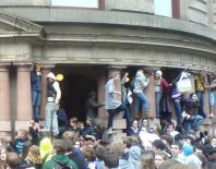 High School Students in Portland take City Hall