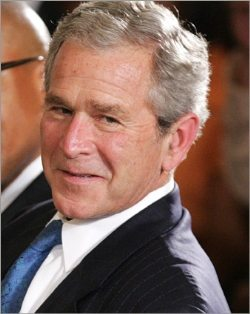 President Bush is set to win a huge victory in the controversy over warrantless wiretapping, as the House Democratic leadership agreed to telecom immunity and expanded spying powers.