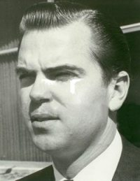 1968 photo of Dan McKinnon - then general manager of Klll in Corpus Christi, Texas. The rich do not want their identities or likenesses known. Had a hellava time finding any photo of him.
