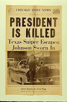 JFK Assassination Newspaper