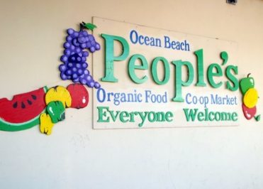 Peoples Food sign