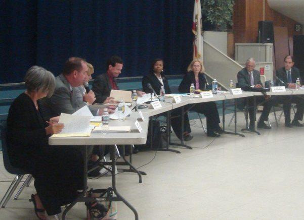 La Mesa-Spring Valley School Board meeting, September 15, 2009.