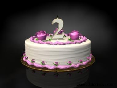 Birthday cake candle 2