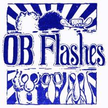 OB Flashes blue