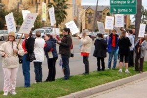 school protest