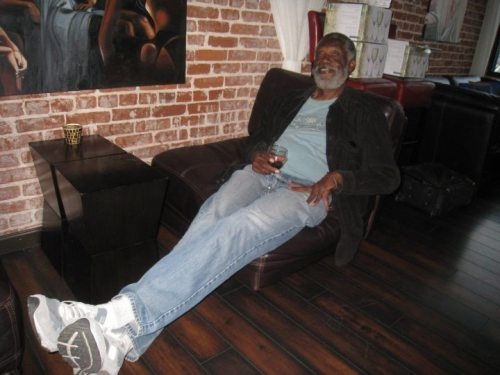 ernie mccray Kicking back