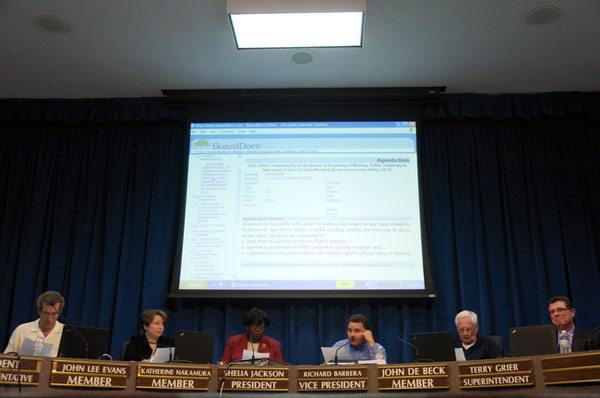 school board in session