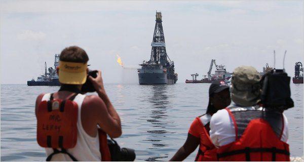 oil spill media